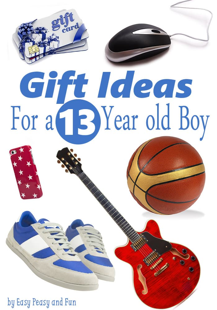 Best Gifts For A 13 Year Old Boy Easy Peasy And Fun
