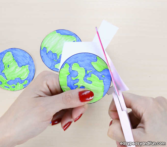 3d Paper Mobile Planets Craft Template Solar System Craft