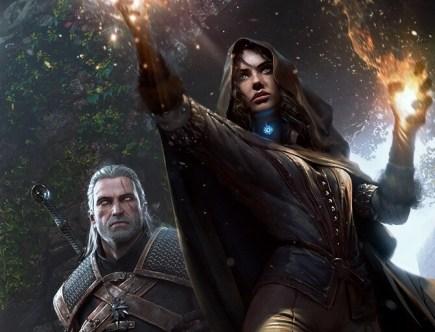 Geralt und Yennefer