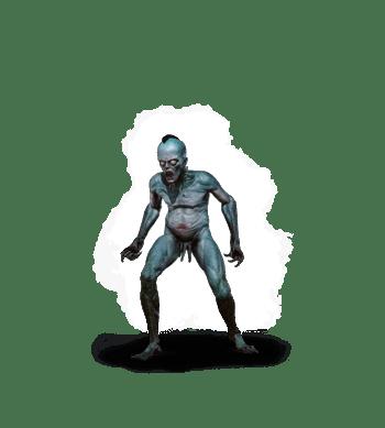 Ertrunkene aus Witcher 3 Wild Hunt Bestiarium