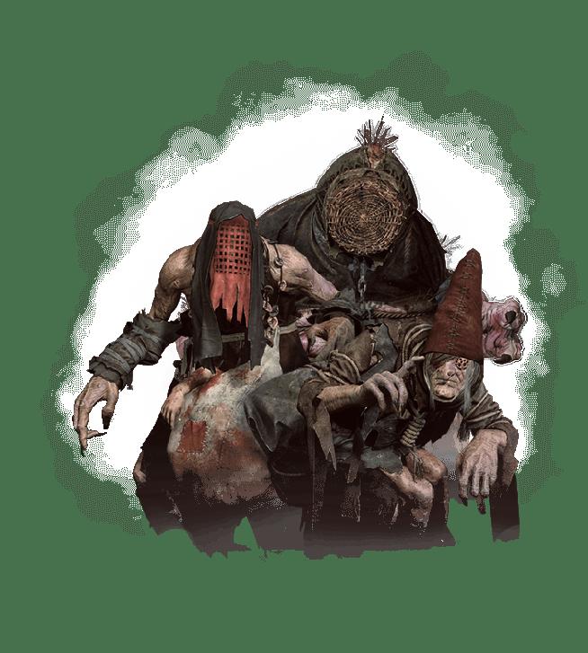 Die Muhmen aus Witcher 3 Wild Hunt Bestiarium