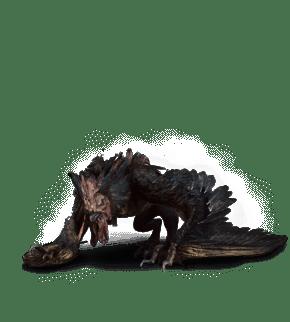 Gorgo aus Witcher 3 Wild Hunt Bestiarium
