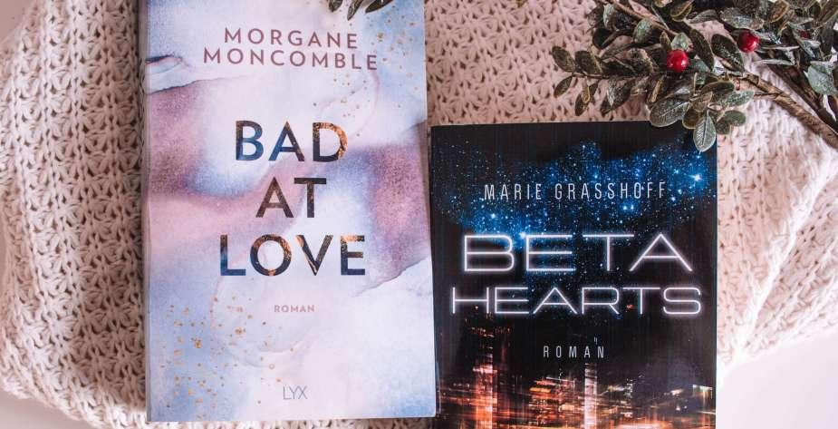 2020 in 12 Büchern Bad at love und Beta Hearts