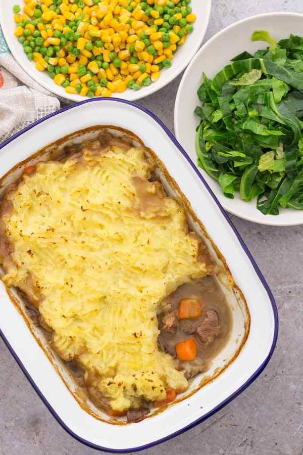 Leftover Roast Lamb Shepherds Pie