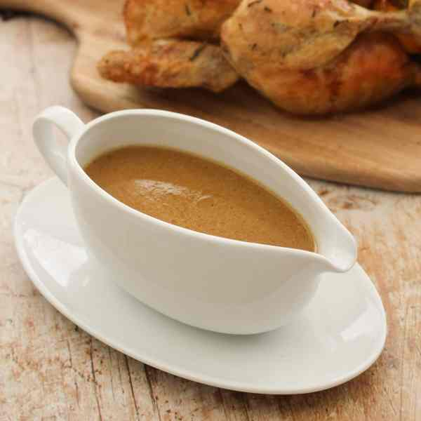 Simple Roast Chicken and Easy Peasy Gravy