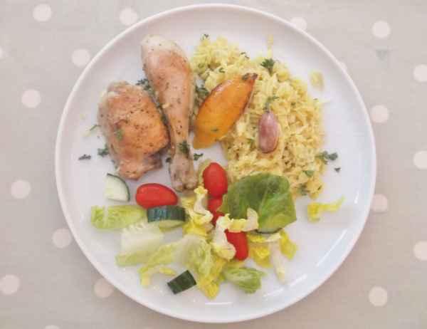 Lemon and Garlic Chicken Traybake 4