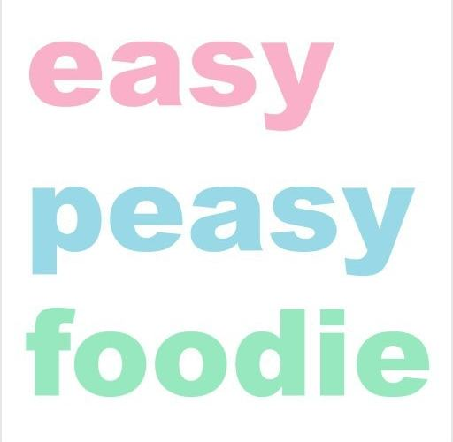 Welcome to Easy Peasy Foodie!
