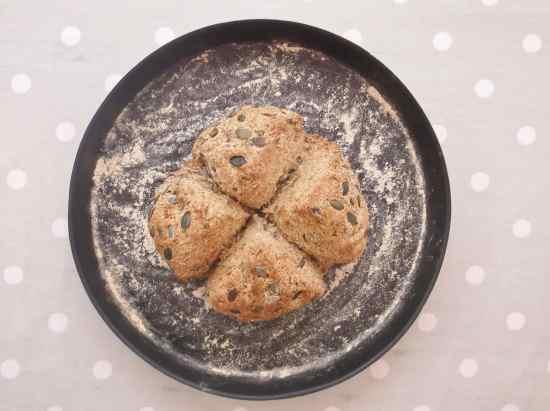 Pumpkin Seed and Rye Bread 2