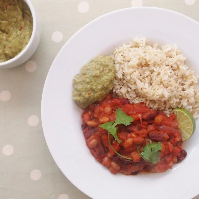 Quick Beany Chilli (Vegan)