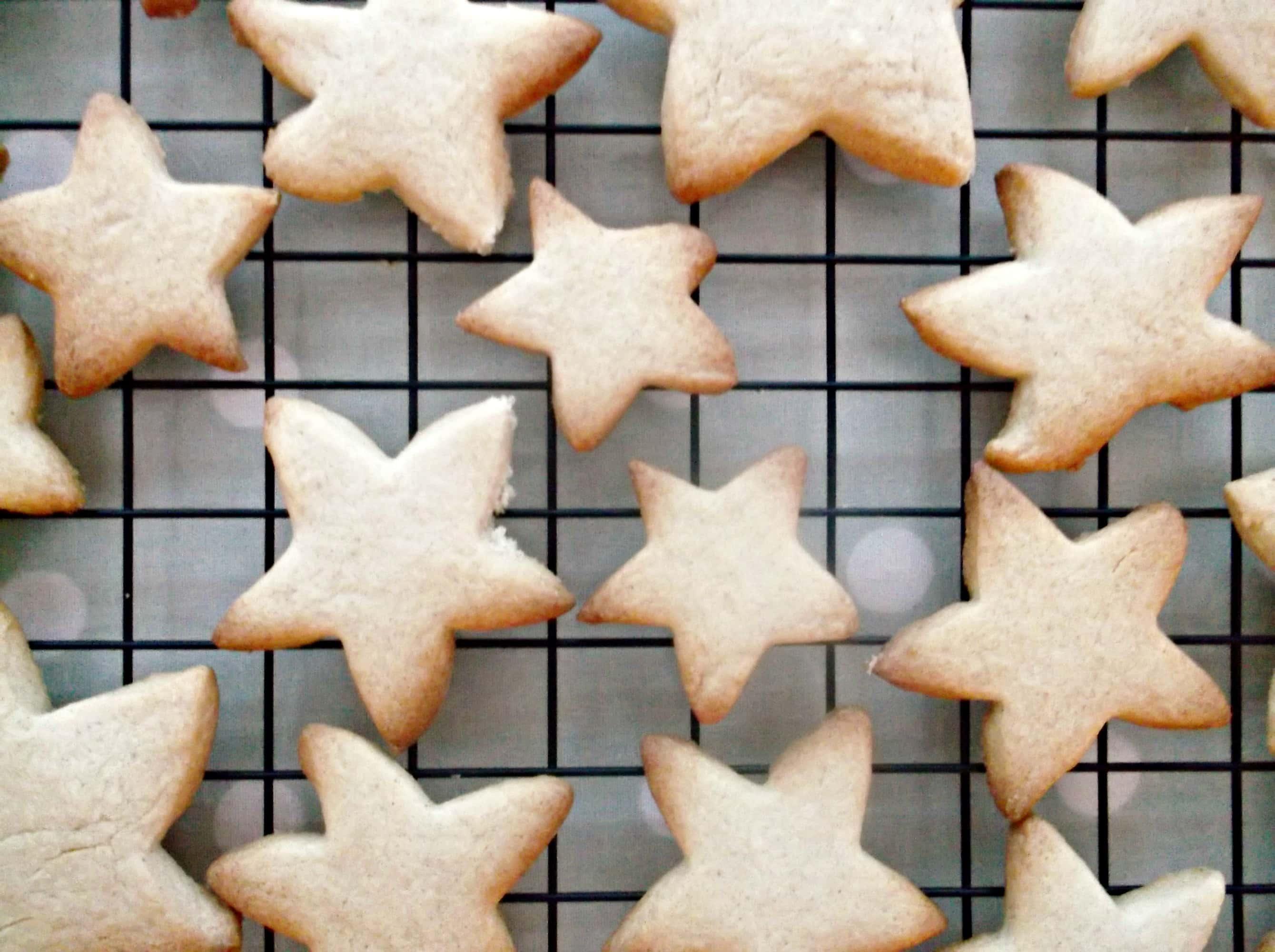 Easy Peasy Christmas Star Biscuits Easy Peasy Foodie