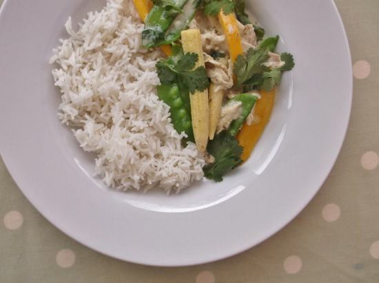 Leftover Turkey Thai Green Curry 2
