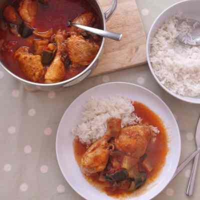 Mediterranean Chicken Stew