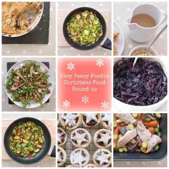 Easy Peasy Foodie Christmas Food Round Up