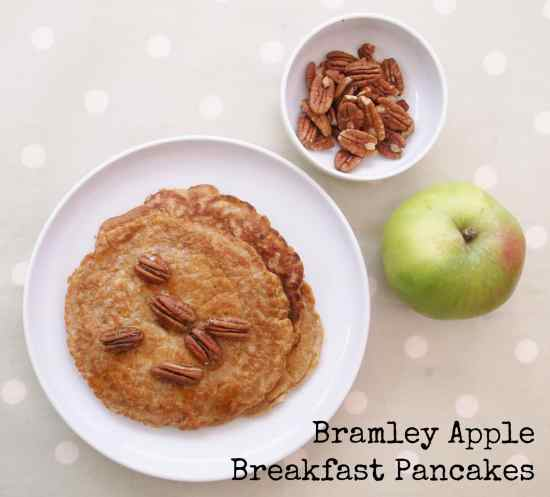 Bramley Apple Breakfast Pancakes