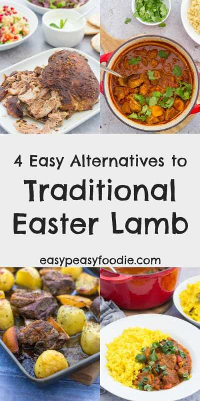 Fancy a break from tradition? Why not try one of my 4 Easy Alternatives to Traditional Easter Lamb this year? All of them are simple to make and don't require much hands on time, meaning you will have more time to spend with your friends and family this year. #easter #easterlamb #lamb #kleftiko #lambtraybake #greeklamb #lambcurry #lambroganjosh #slowroastlamb #lambtagine #easydinners #easterlunch #easypeasyfoodie