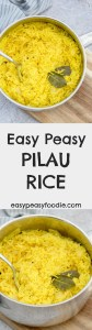Love pilau rice, but always thought it would be too complicated to make at home? Think again! My Easy Peasy Pilau Rice is super quick and simple to make, even more delicious than the shop bought stuff…and best of all, the kids LOVE mummy's yellow rice #pilaurice #indianrice #spicyrice #rice #yellowrice #under20minutes #side #sidedish #vegetarian #glutenfree #dairyfree #easyrecipes #easypeasyfoodie #fakeaway