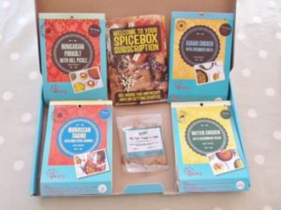 Review of The Spicery Recipe Kits