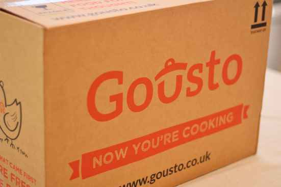 Gousto Recipe Box Review