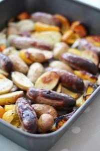 Mary Berry Sausage and Potato Supper