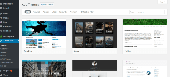 Bluehost WordPress Themes