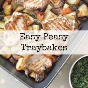 Easy Peasy Traybakes