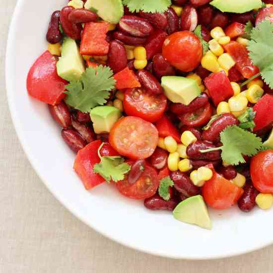 5 Minute Mexican Salad
