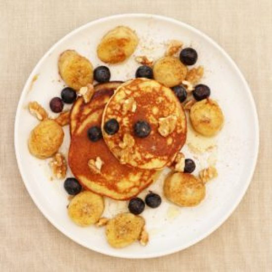 Madeleine Shaw's Almond Pancakes from Get the Glow