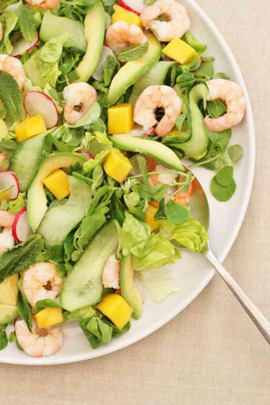 Prawn, Avocado & Mango Salad