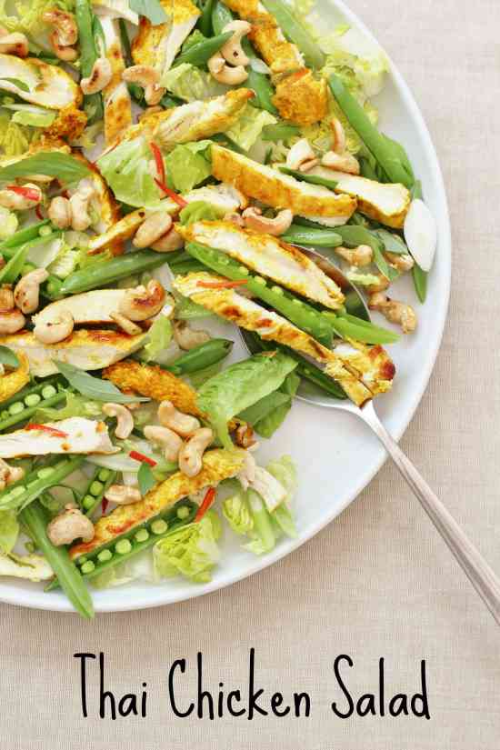 Thai Chicken Salad from Ready Steady Glow by Madeleine Shaw
