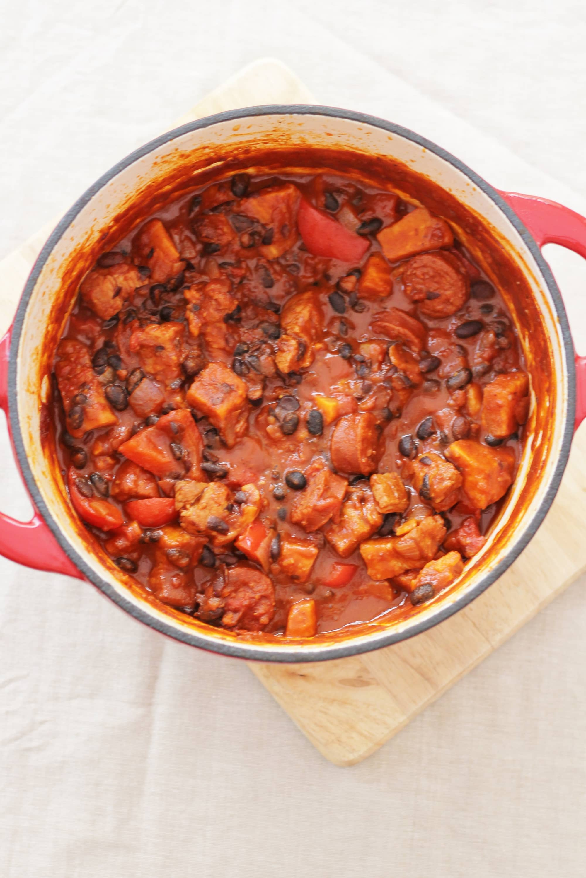 Easy brazilian feijoada with orange and tomato salsa easy peasy easy brazilian feijoada forumfinder Image collections