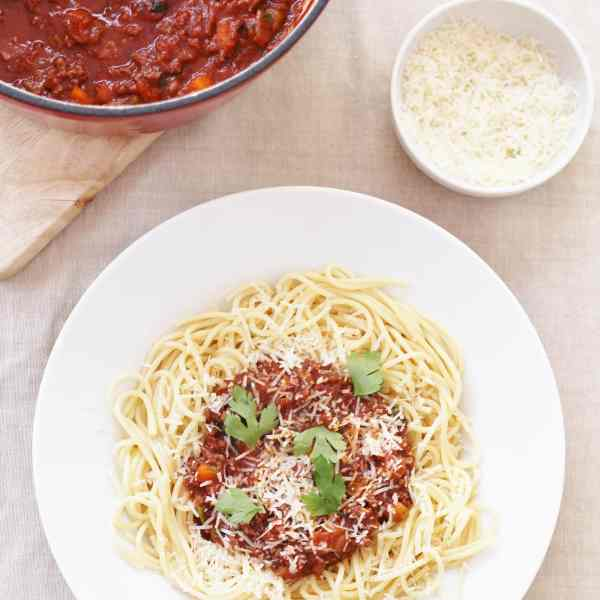 Sirtfood Cocoa Bolognese