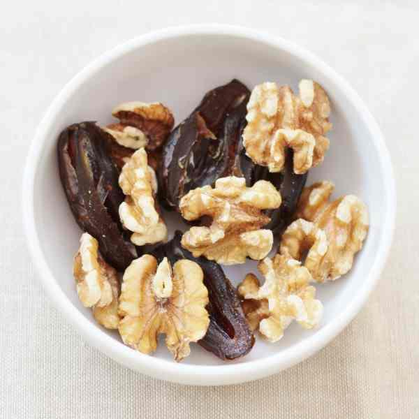 Medjool Dates and Walnuts