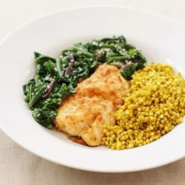 Miso Marinated Baked Cod from the Sirtfood Diet