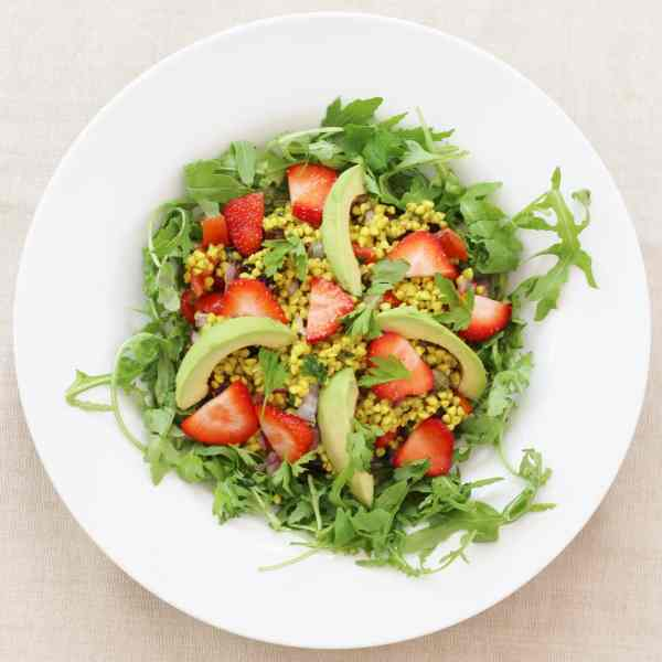 Strawberry Buckwheat Tabbouleh from the Sirtfood Diet
