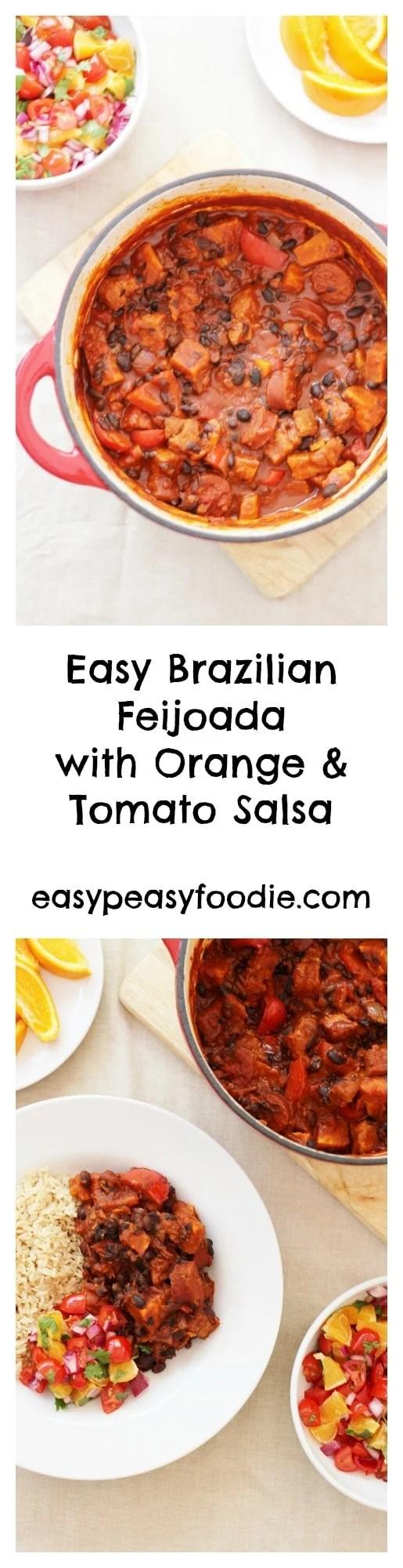 Easy brazilian feijoada with orange and tomato salsa easy peasy easy brazilian feijoada with orange and tomato salsa forumfinder Image collections