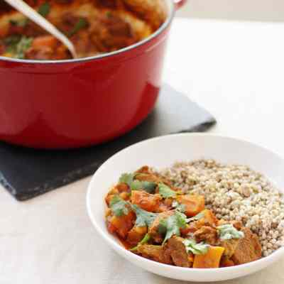 Lamb, Date and Butternut Squash Tagine