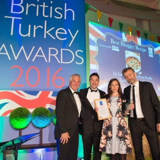 British Turkey Awards Best Blogger Recipe 2016