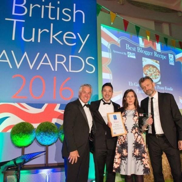 British Turkey Awards Best Blogger Recipe 2016