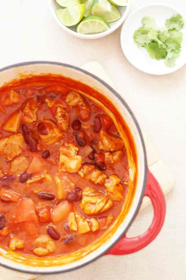 Chicken Chilli Con Carne