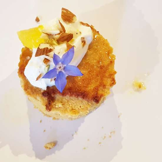 Lisa's delicious Orange and Almond Cake