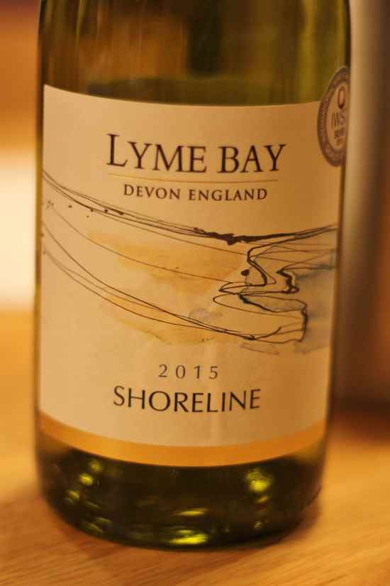 Lyme Bay Shoreline English Wine at the River Cottage