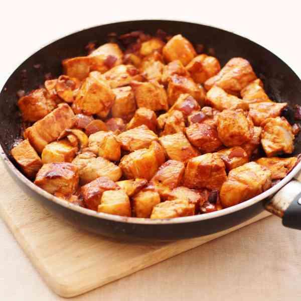 Easy Pork Stroganoff