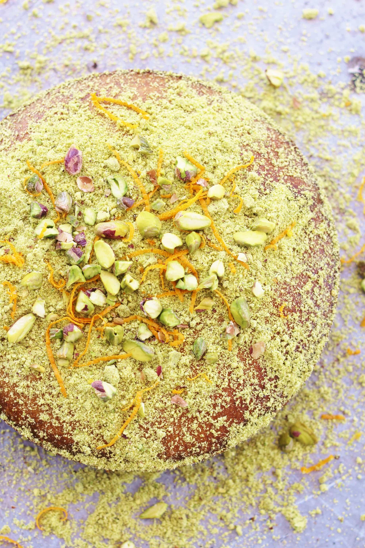 Polenta Carrot Cake Recipe