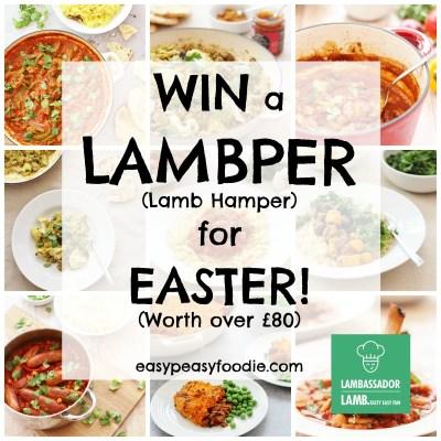 Win a Lambper (Lamb Hamper) for Easter! [GIVEAWAY NOW CLOSED]