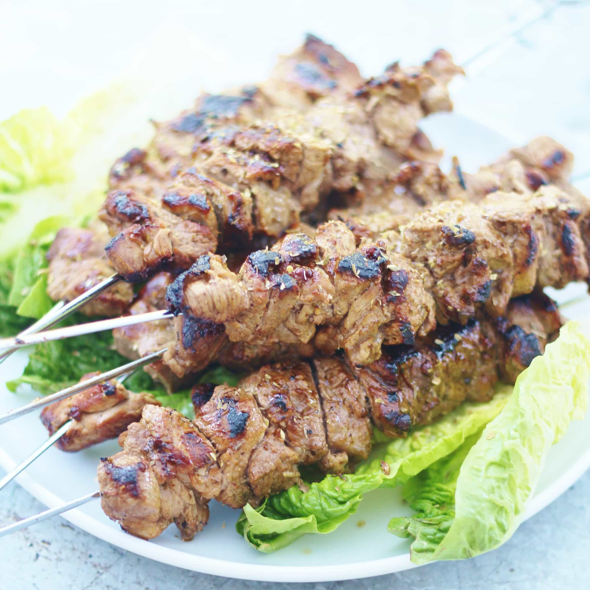 How to cook a lamb kebab in a frying pan