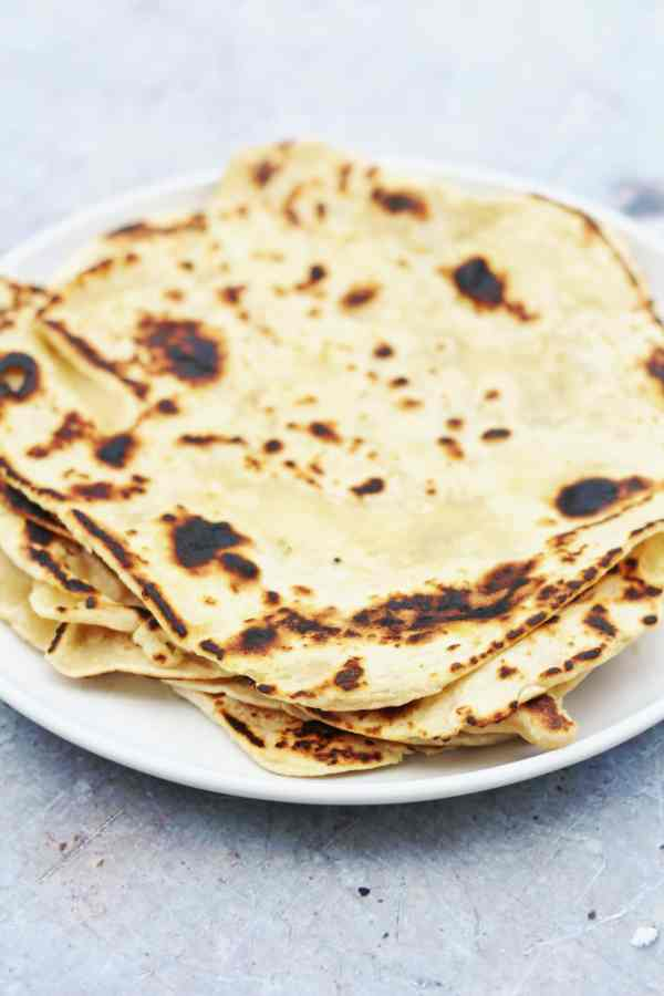 Easy 2 Ingredient Yogurt Flatbreads