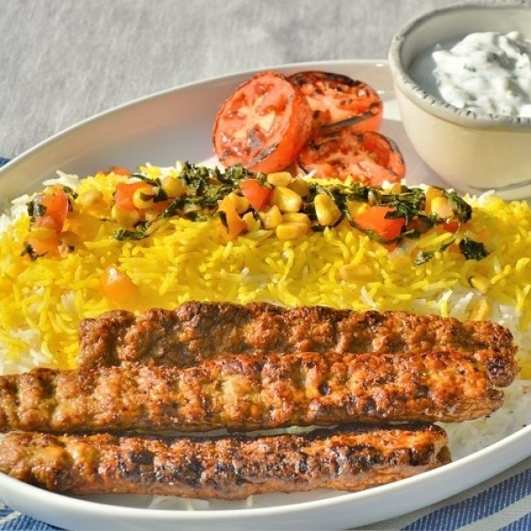 Persian Ground Lamb Kababs