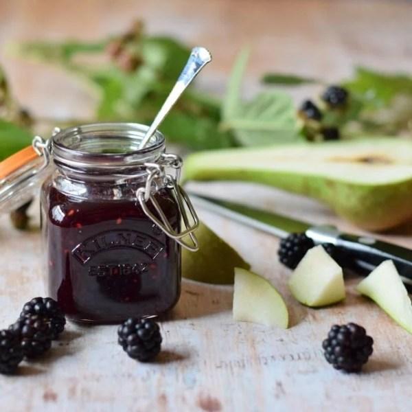Homemade Blackberry and Pear Jam