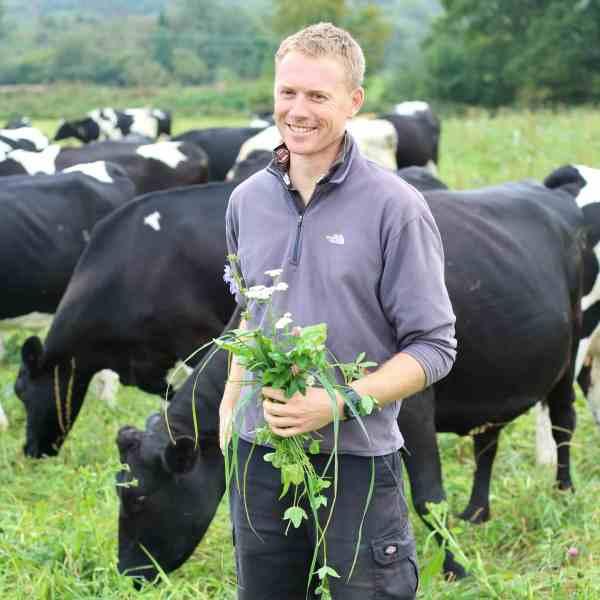 Dan Burdett, Organic Dairy Farmer