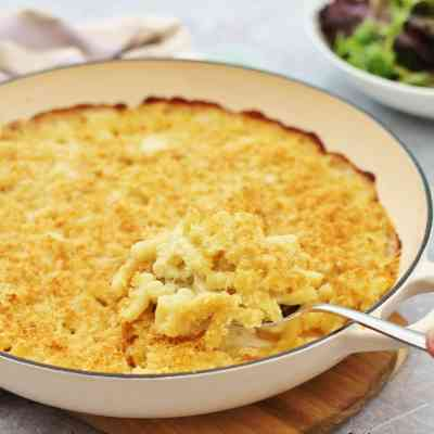 Three Cheese Macaroni Cheese